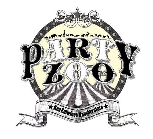 PARTY ZOO ロゴ (okmusic UP's)