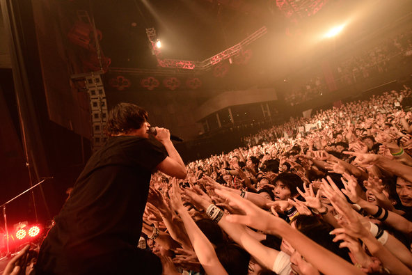 8月23日(火)@東京・新木場STUDIO COAST (okmusic UP's)