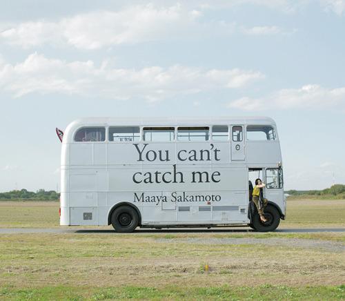 坂本真綾『You can't catch me』初回限定盤ジャケット画像 (c)ListenJapan