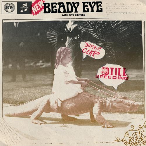 リアム新バンド「ビーディ・アイ」、1stアルバム『ディファレント・ギア、スティル・スピーディング』ジャケットも明らかに (c)Listen Japan