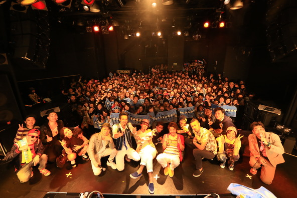 4月13日(日)@代官山UNIT (okmusic UP\'s)