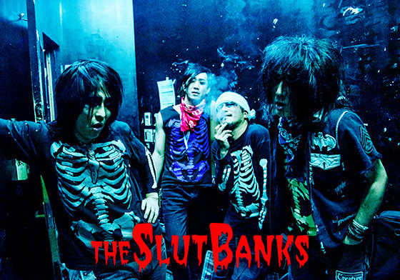 THE SLUT BANKS (okmusic UP's)