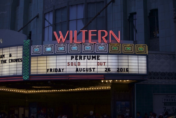 8月26日@ The Wiltern(Los Angeles) (okmusic UP's)