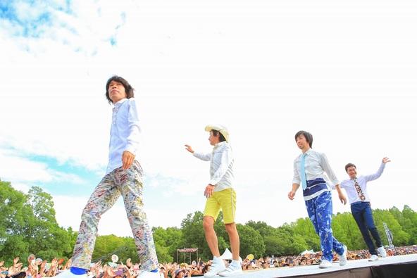 8月29日@万博公園もみじ川芝生広場 (okmusic UP's)
