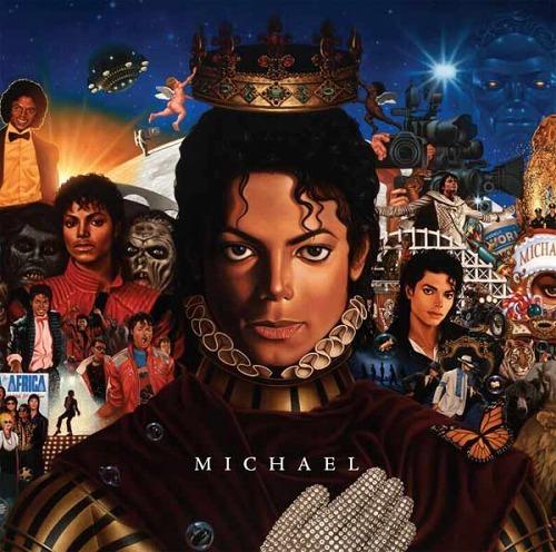 MJの未発表新曲を収録したニューアルバム『MICHAEL』 (c)Listen Japan