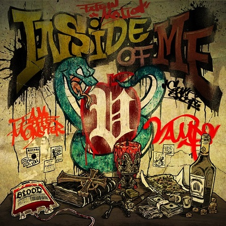 シングル「INSIDE OF ME feat. Chris Motionless of Motionless In White」 (okmusic UP's)