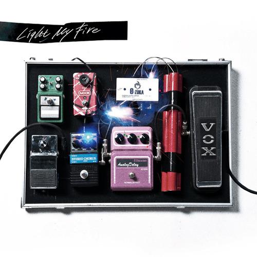 『「咎狗の血」オリジナルサウンドトラック Light My Fire』ジャケット画像 (C)Nitroplus/HOBIBOX・「咎狗の血」製作委員会・MBS (c)ListenJapan