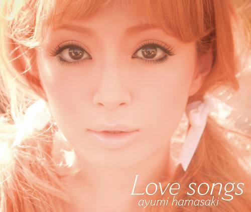浜崎あゆみの最新作『Love songs』 (c)Listen Japan