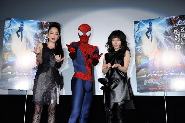 4月16日(水)@映画「アメイジング・スパイダーマン2」ジャパン・プレミア (okmusic UP\'s)