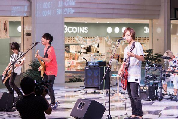 9月3日@池袋サンシャインシティ噴水広場 (okmusic UP's)
