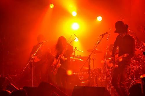2011年最初のライヴパフォーマンスを披露したHeavenstamp (c)Listen Japan