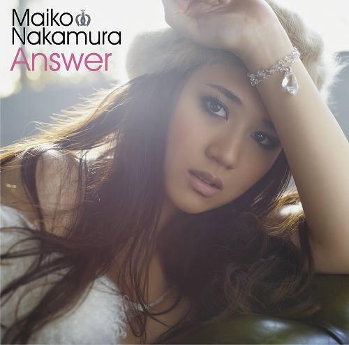 1月12日に発売される中村舞子のデビューアルバム『Answer』 (c)Listen Japan