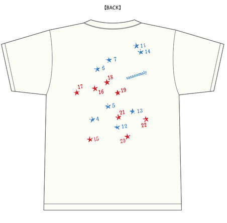 限定デザインTシャツ (okmusic UP's)