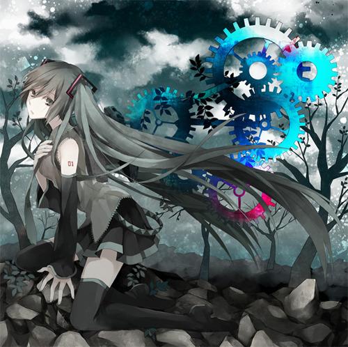 buzzG feat.初音ミク×VOCALISTS『Symphony』ジャケット画像 (c)ListenJapan