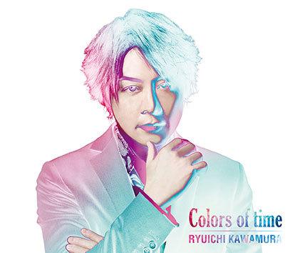 アルバム『Colors of time』【CD+DVD】 (okmusic UP's)