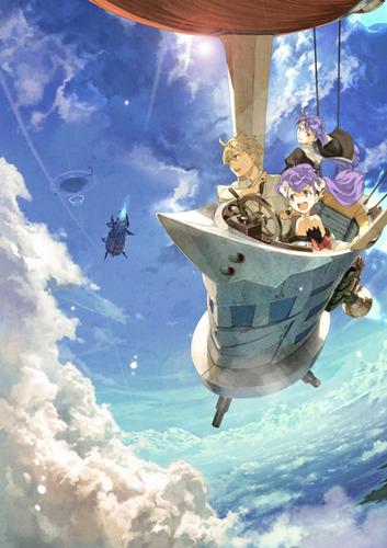 好評放映中のTVアニメ「フラクタル」メインビジュアル (C)フラクタル製作委員会 (c)ListenJapan