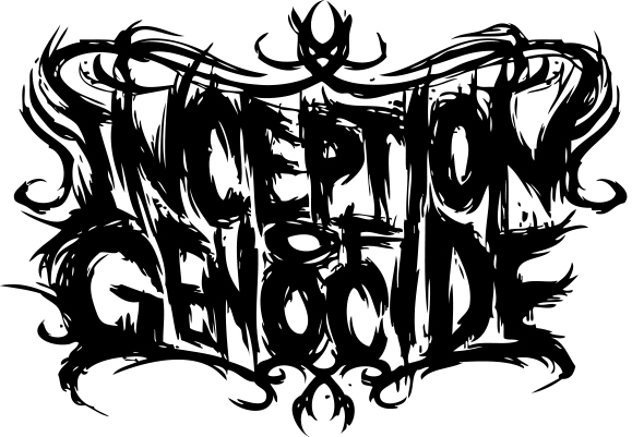 INCEPTION OF GENOCIDE ロゴ (okmusic UP's)