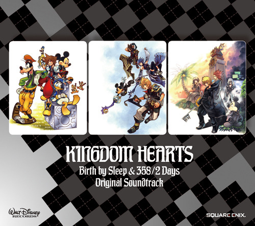 『KINGDOM HEARTS Birth by Sleep & 358/2 Days オリジナル・サウンドトラック』ジャケット画像 (C)Disney (c)ListenJapan