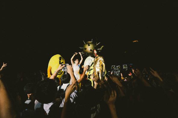 9月16日(金)@『uP!!!NEXT〜水曜日のカンパネラ FREE LAGOOOOOON!!!〜』 photo by Tomokazu Yamada (okmusic UP\'s)