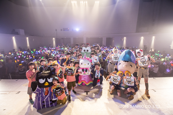 9月17日(土)@『EBiDAN THE UNiON 2016 in Sanrio Puroland』 (okmusic UP's)