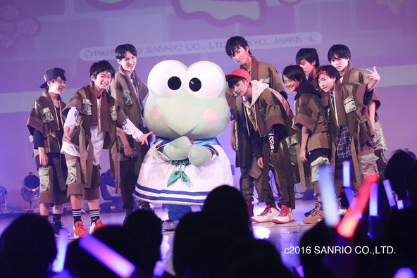9月17日(土)@『EBiDAN THE UNiON 2016 in Sanrio Puroland』(SUPER★DRAGON) (okmusic UP's)