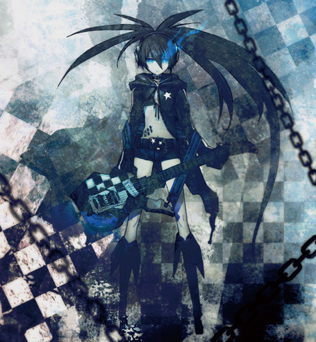 『BLACK★ROCK SHOOTER ANIMATION; ORIGINAL SOUNDTRACK & REMIXES』ジャケット画像 TamStar Records,B★RS Project,ALL RIGHTS RESERVRD. (c)ListenJapan