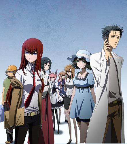 TVアニメ「STEINS;GATE」メインビジュアル (C)2011 5pb./Nitroplus 未来ガジェット研究所 (c)ListenJapan