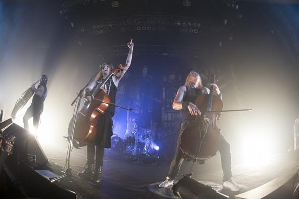 9月17日@ZEPP TOKYO(APOCALYPTICA) (okmusic UP's)