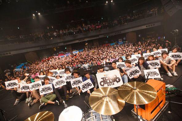『Eggs presents TOKYO CALLING 2016』ライブ写真 (okmusic UP\'s)