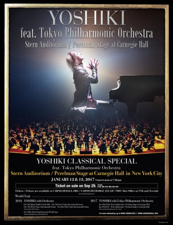 『YOSHIKI CLASSICAL SPECIAL Featuring Tokyo Philharmonic Orchestra』 (okmusic UP's)