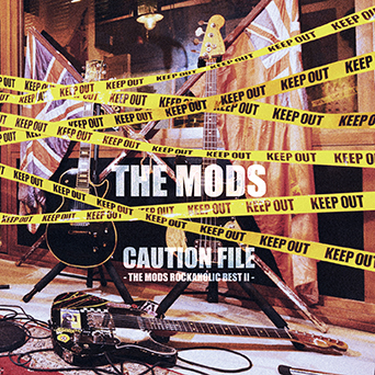 アルバム『CAUTION FILE -THE MODS ROCKAHOLIC BEST2-』 (okmusic UP's)
