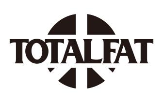TOTALFAT ロゴ (okmusic UP's)