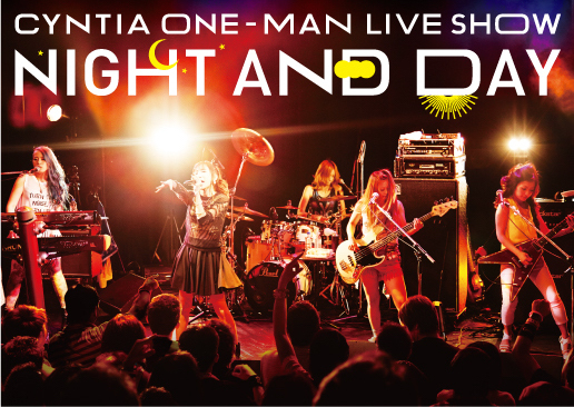 DVD『CYNTIA「NIGHT AND DAY」LIVE DVD』 (okmusic UP\'s)