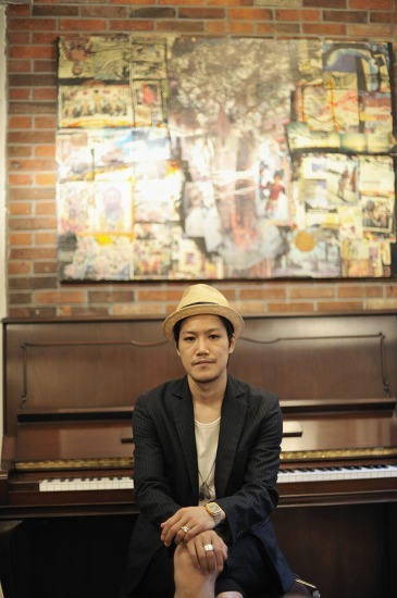 2ndアルバムをリリースする渡 wataryこと渡 和久 (c)Listen Japan