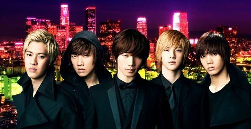韓国で絶大な人気を誇る5人組、MBLAQ(エムブラック)が日本上陸 (c)Listen Japan