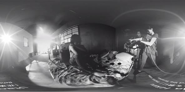「花束を君に」360度メイキング写真 (okmusic UP's)