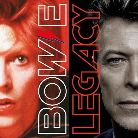 アルバム『レガシー ~ザ・ヴェリー・ベスト・オブ・デヴィッド・ボウイ』【DAVID BOWIE LEGACY 2 CD Track Listing】 (okmusic UP's)