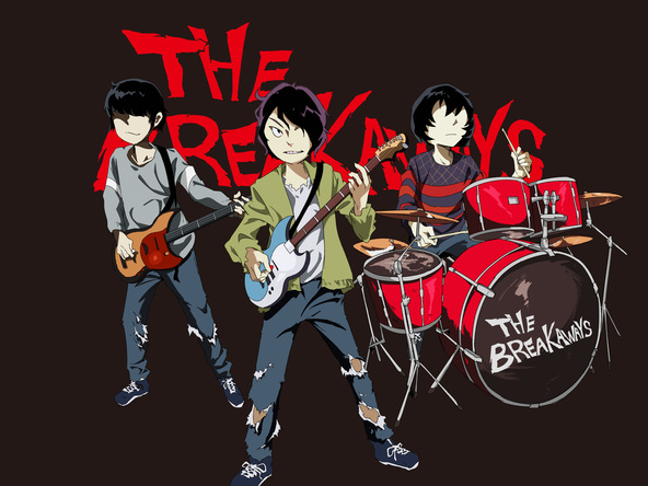 THE BREAKAWAYS (okmusic UP's)
