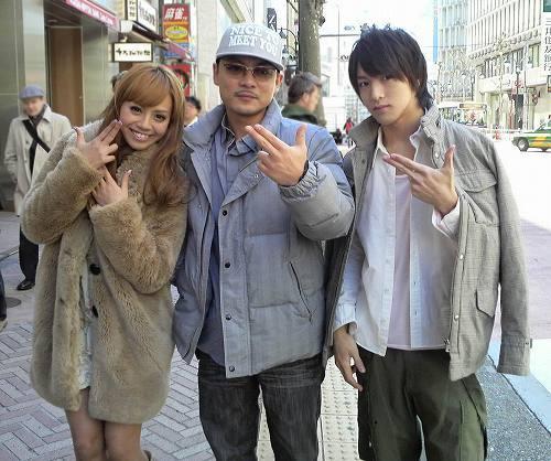 『東京RAGGA LOVERS 2』 左から:廣瀬麻伊、SPICY CHOCOLATEのカツユキ、上遠野太洸 (c)Listen Japan
