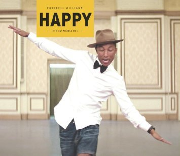 Pharrell Williams「HAPPY」のジャケット写真 (okmusic UP\'s)