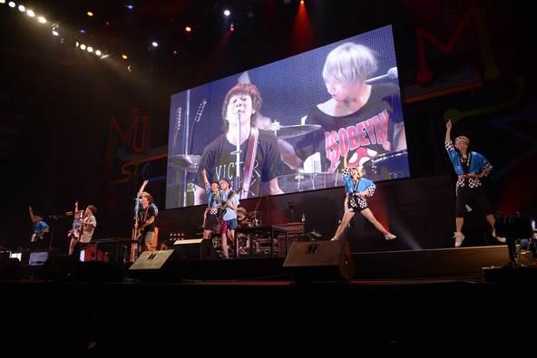 10月9日(日)@『ビクターロック祭り2016~大阪秋の陣~』(KEYTALK) photo by 大久保啓二、小林俊史 (okmusic UP's)