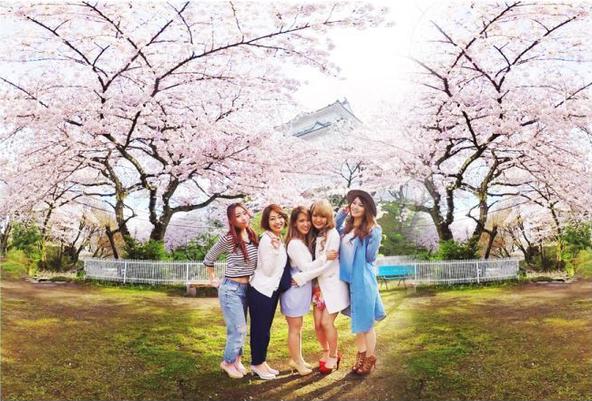 女子旅 – 桜と小田原城 – (okmusic UP's)
