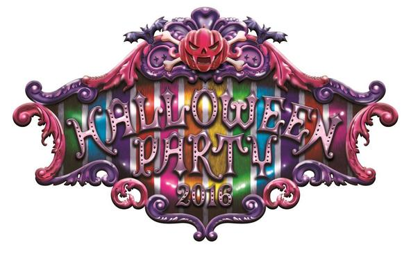 「HALLOWEEN PARTY 2016」ロゴ (okmusic UP's)