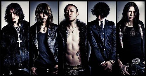 ドイツ開催のメタルフェスに出演するDIR EN GREY (c)Listen Japan