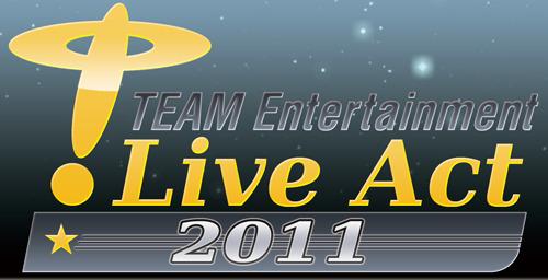 """公演収益金の一部が義援金として募金されることが発表された、""""TEAM Entertainment Live Act 2011"""" (c)ListenJapan"""