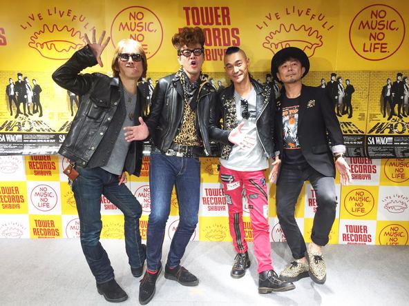 10月18日(火)@タワーレコード渋谷店 (okmusic UP\'s)