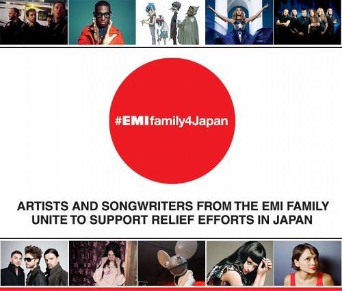 日本の被災地支援チャリティー・オークション『ebay.com/EMIfamily4Japan』開始 (c)Listen Japan