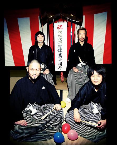 今年も『長田大行進曲2011』の開催を発表したガガガSP (c)Listen Japan