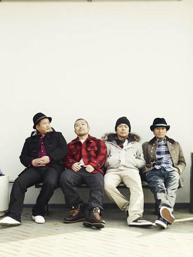 ニュー・シングル「こだま」を6月8日(水)にリリースするケツメイシ (c)Listen Japan