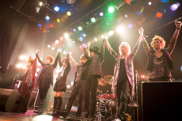4月26日@TSUTAYA O-WEST 【wyse×ν[NEU]】 (c)PHOTO: 藤原 悠里(okmusic UP\'s)